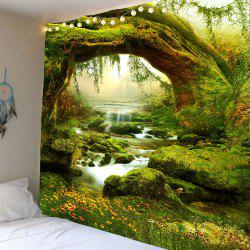 Forest Streams Print Wall Art Tapestry