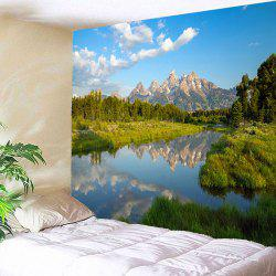 Lake Forest Waterproof Hanging Wall Tapestry