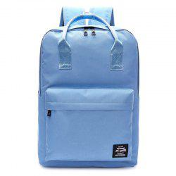 Double Pocket Top Handle Backpack -