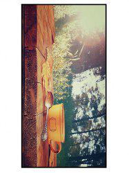 Forest Coffee Print Soft Polyester Bath Towel