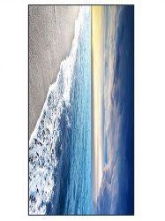 Sea Beach Printed Soft Polyester Bath Towel
