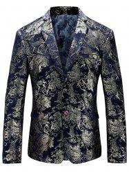 Single Breasted Floral Gilding Blazer