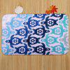 Cartoon Tortoise Pattern 3 Pcs Bath Mat Toilet Mat -