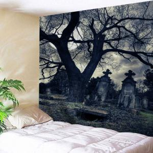 Wall Hanging Halloween Gloomy Night Tapestry