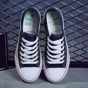 Low-top Canvas Sneakers -