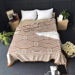 Bedroom Printed Soft Naked Sleep Throw Blanket