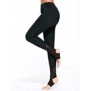 High Waisted Yoga Stirrup Leggings