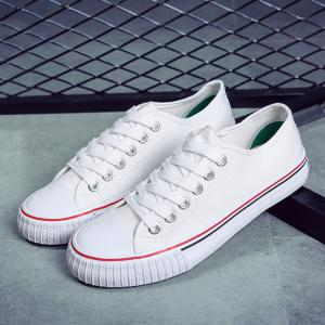 Classic Low-top Canvas Sneakers -