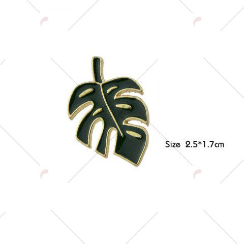 Hot Alloy Tiny Leaf Brooch - GREEN  Mobile