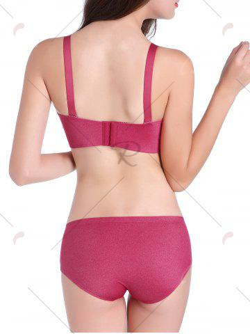 Shops Seamless Push Up Adjustable Straps Bra - 85C RED Mobile