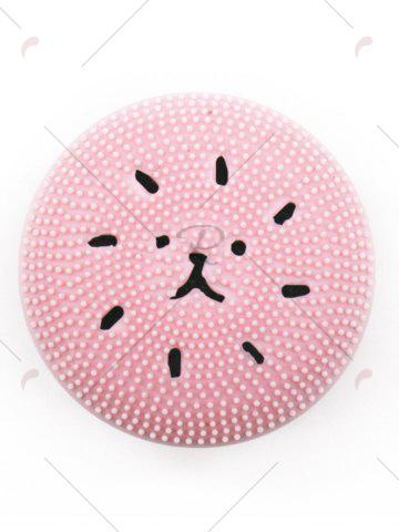 Buy Silicone Octopus Double Head Facial Cleansing Brush - PINK  Mobile