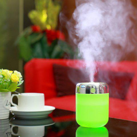 Fashion Oblique Hole Air Humidifier With Color Changing LED Light