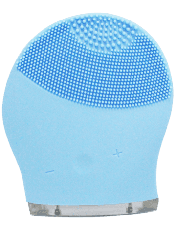 Buy Silicone Recharge Massage Face Cleanser Brush Device - AZURE  Mobile