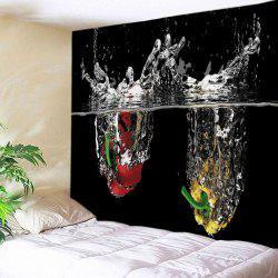 Water Peppers Print Tapestry Wall Hanging Art Decoration -