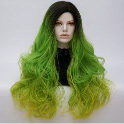 Longue partie moyenne Colormix Shaggy Layered Wavy Cosplay Wig -