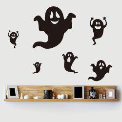 Home Decor DIY Halloween Ghost Shape Wall Stickers