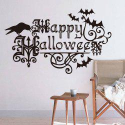 Home Decor DIY Happy Halloween Shape Wall Stickers