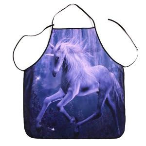 Kitchen Product Unicorn Print Waterproof Apron