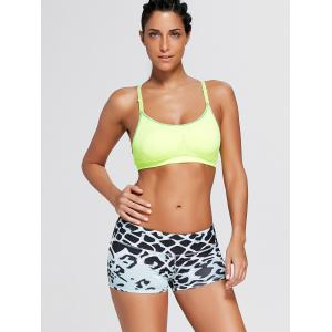 Shorts Sports Snake Pattern Mini -