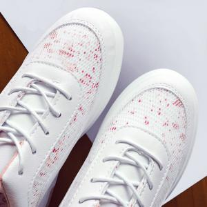 Mesh Printed Breathable Athletic Shoes - PINK 39