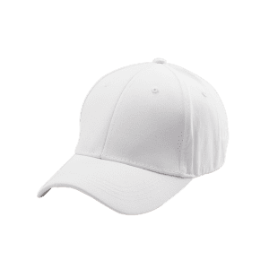 Letters Embroidered Back Baseball Hat - WHITE