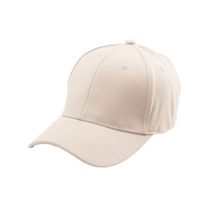 Letters Embroidered Back Baseball Hat - KHAKI