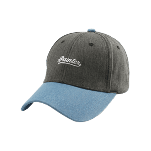 Letters Embroidered Two Tone Baseball Cap - GRAY