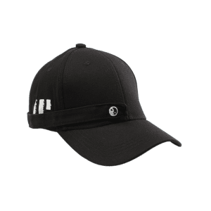 Tiny Eight Diagrams Rectangle Embellished Baseball Cap - BLACK