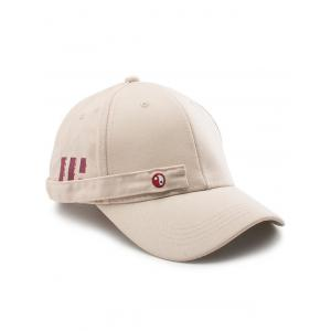 Tiny Eight Diagrams Rectangle Embellished Baseball Cap - Khaki