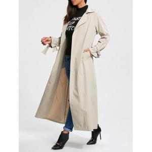 Belted Maxi Wrap Trench Coat