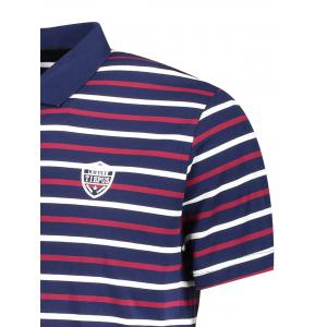 Stripe Mens Polo Shirt -