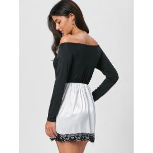 Off The Shoulder Mini Fit and Flare Dress -