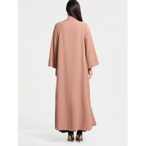 Open Front Long Maxi Cardigan -