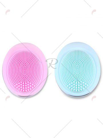 Online Deep Pore Skin Cleansing Silicone Face Massage Instrument - PINK  Mobile