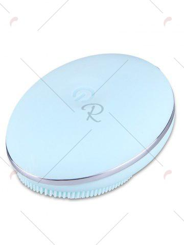 Latest Deep Pore Skin Cleansing Silicone Face Massage Instrument - LIGHT BLUE  Mobile