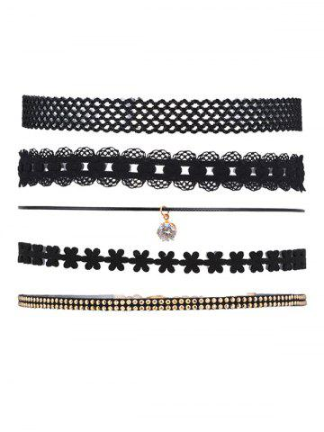 Shops 5 Pieces Layered Punk Choker Necklace