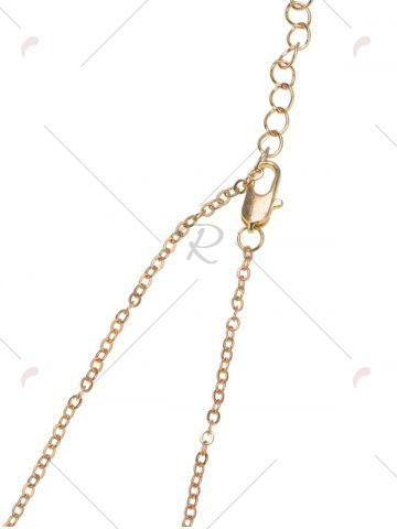 Best Link Chain Nameplate Necklace - GOLDEN  Mobile