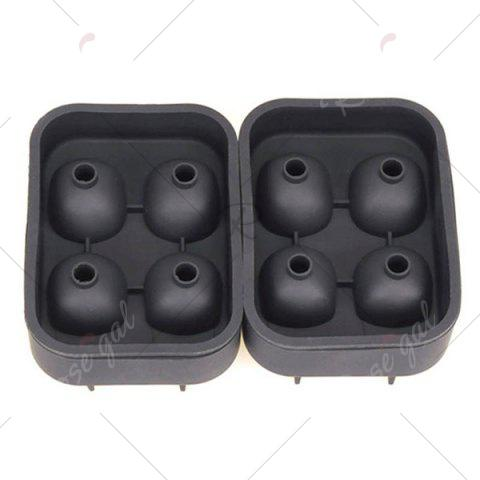 Latest Halloween 3D Skull Silicone Ice Cube Tray - BLACK  Mobile