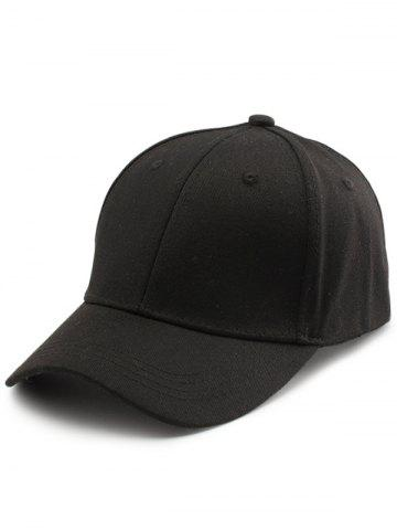 Sale Letters Embroidered Back Baseball Hat - BLACK  Mobile