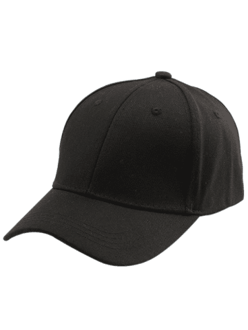 Affordable Letters Embroidered Back Baseball Hat - BLACK  Mobile