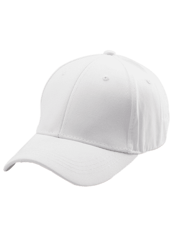 Chic Letters Embroidered Back Baseball Hat - WHITE  Mobile