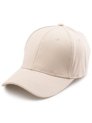 Shops Letters Embroidered Back Baseball Hat KHAKI