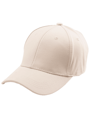 Discount Letters Embroidered Back Baseball Hat - KHAKI  Mobile
