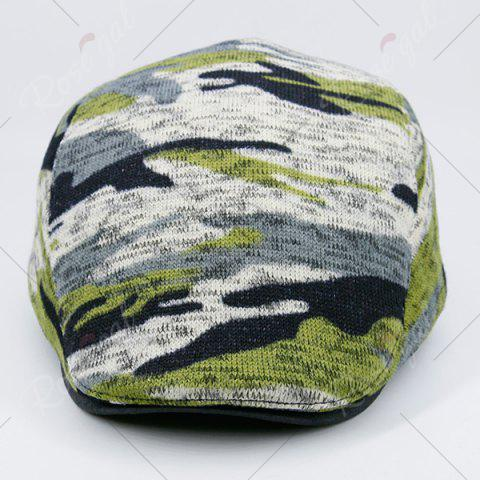 Latest Camouflage Versatile Flat Cap - DEEP GREEN  Mobile