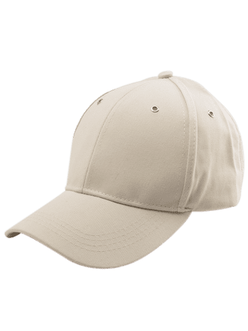 Unique Letters Embroidered Long Tail Baseball Cap - KHAKI  Mobile