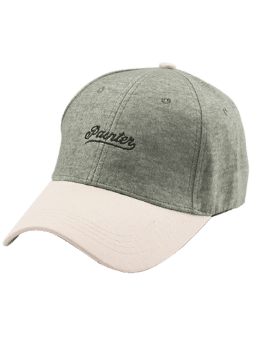 Unique Letters Embroidered Two Tone Baseball Cap - GREEN  Mobile