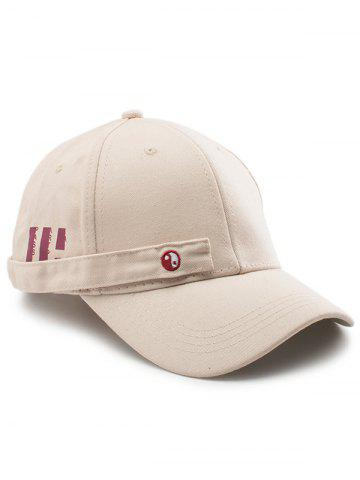 Shops Tiny Eight Diagrams Rectangle Embellished Baseball Cap KHAKI