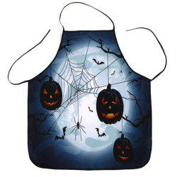 Household Fabric Halloween Cooking Apron