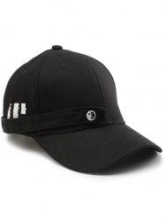 Tiny Eight Diagrams Rectangle Embellished Baseball Cap