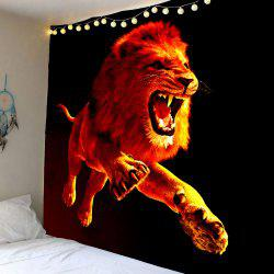Home Decor 3D Lion Printed Wall Hanging Tapestry